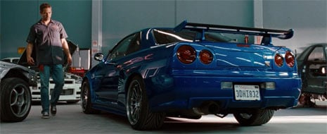 Nissan Skyline do Fast & Furious 4