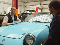 Car SOS - Fiat 850 Spider