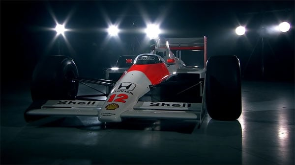 Carro de Ayrton Senna no Top Gear